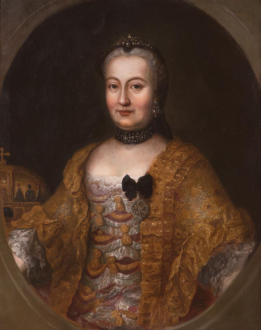 Јозеф Хикел, Царица Марија Терезија, око 1760–65.