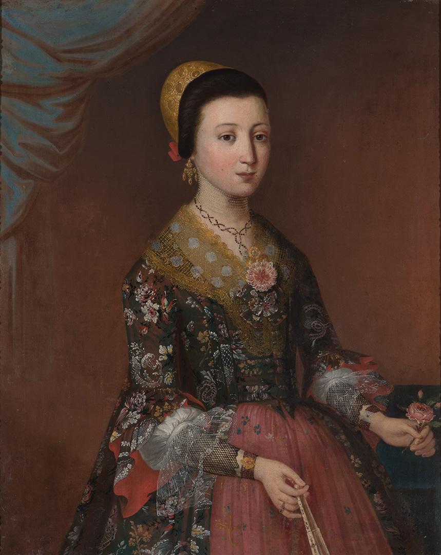 Непознати портретиста XVIII века, Грофица Нако, 1780–90.