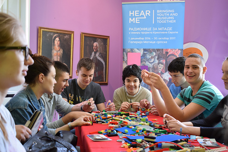 HearMe. Bringing youth and museums together