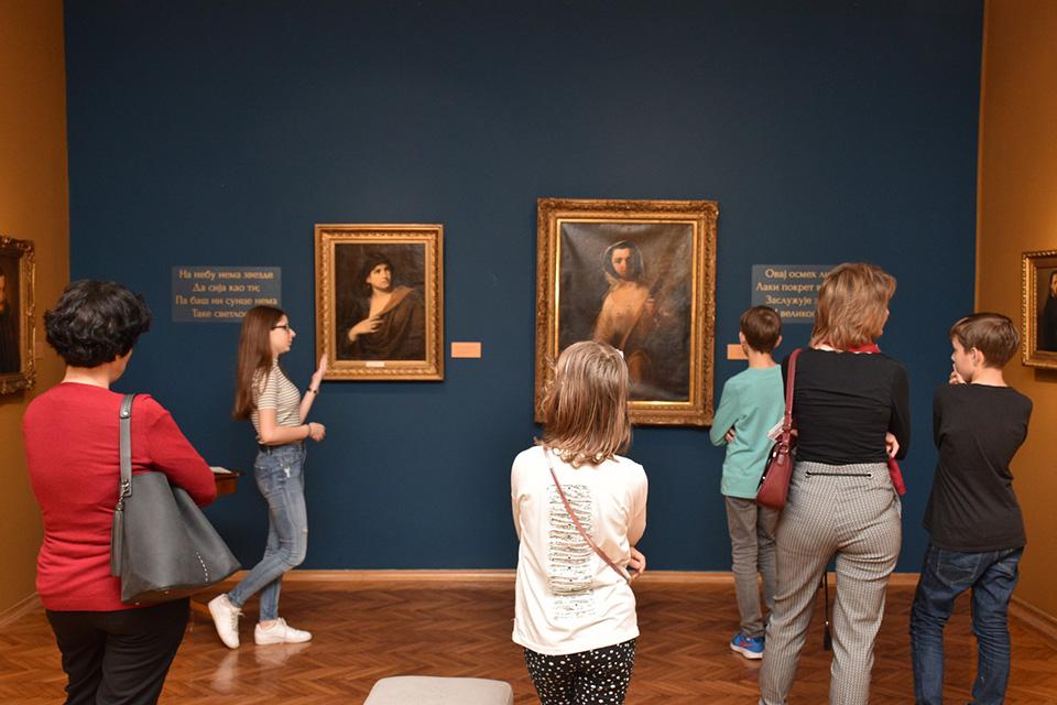 Уколико желиш да откријеш како твоји вршњаци доживљавају уметност и уметничка дела из колекције ГМС изложена у Сталној поставци и на повременим изложбама, прикључи се вођењима Млади за младе.