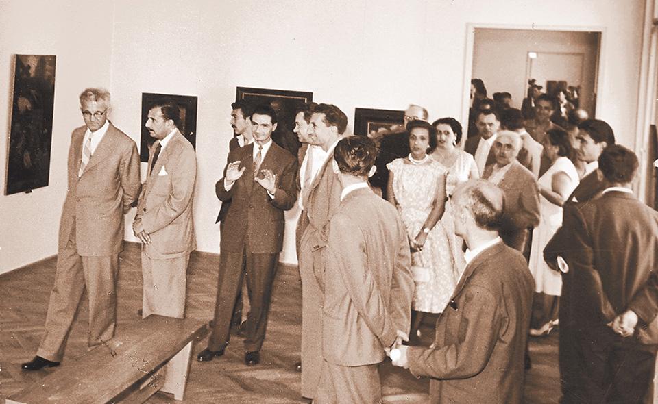 1958-Svecano-otvaranje-Galerije-Matice-srpske