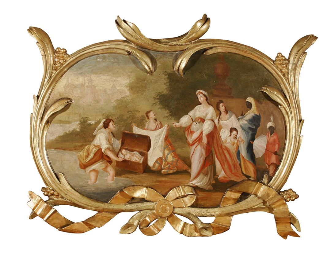 Теодор Крачун, Налажење Мојсија, око 1780.