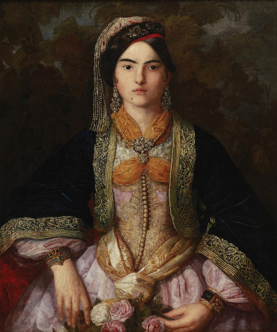 Катарина Ивановић, Анка Топаловић рођ. Ненадовић, 1837.