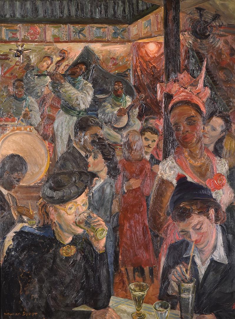 Богдан Шупут, Кафана у Паризу, 1939.