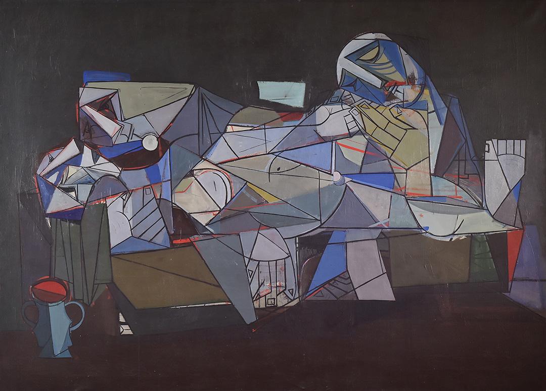 Лазар Возаревић, Оплакивање Христа, 1956.