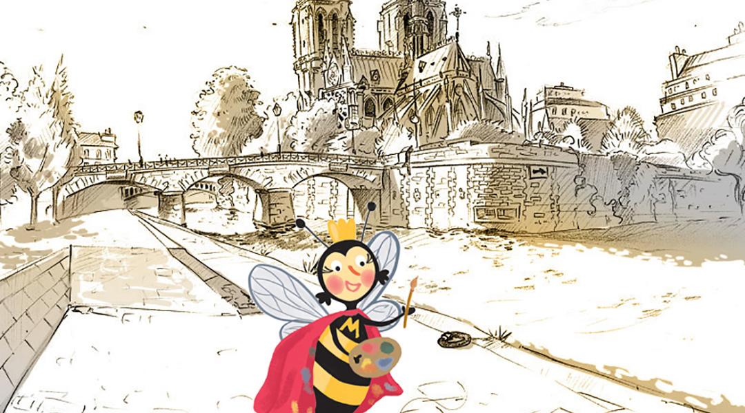 Креативне радионице за децу Зачарани магијом Париза