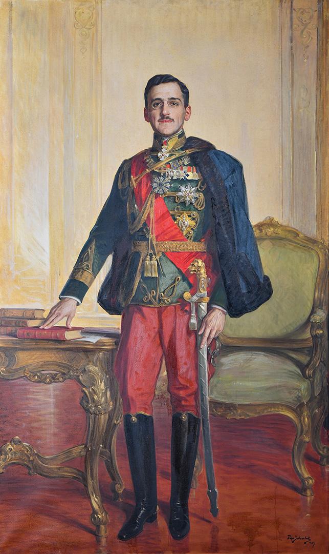 Паја Јовановић Краљ Александар Карађорђевић, 1927.