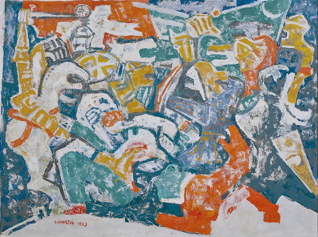 Петар Лубарда Косовски бој, 1953.