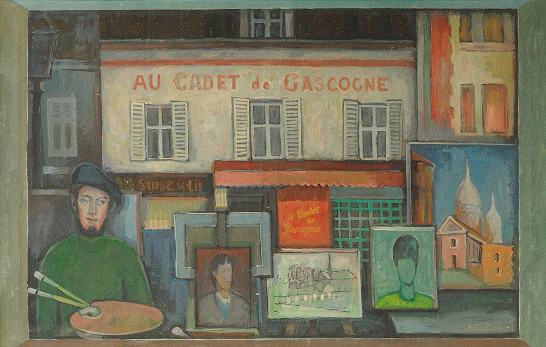 Милорад Балаћ, Париз, 1967.