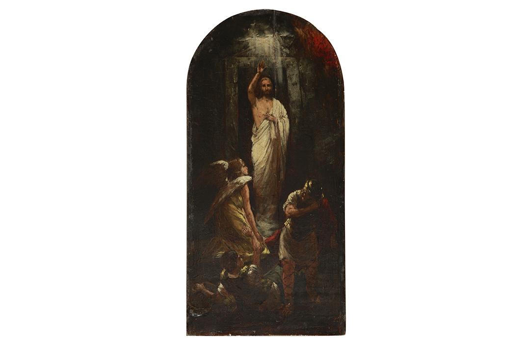 У фокусу: Ђорђе Крстић, Васкрсење Христово, 1893.
