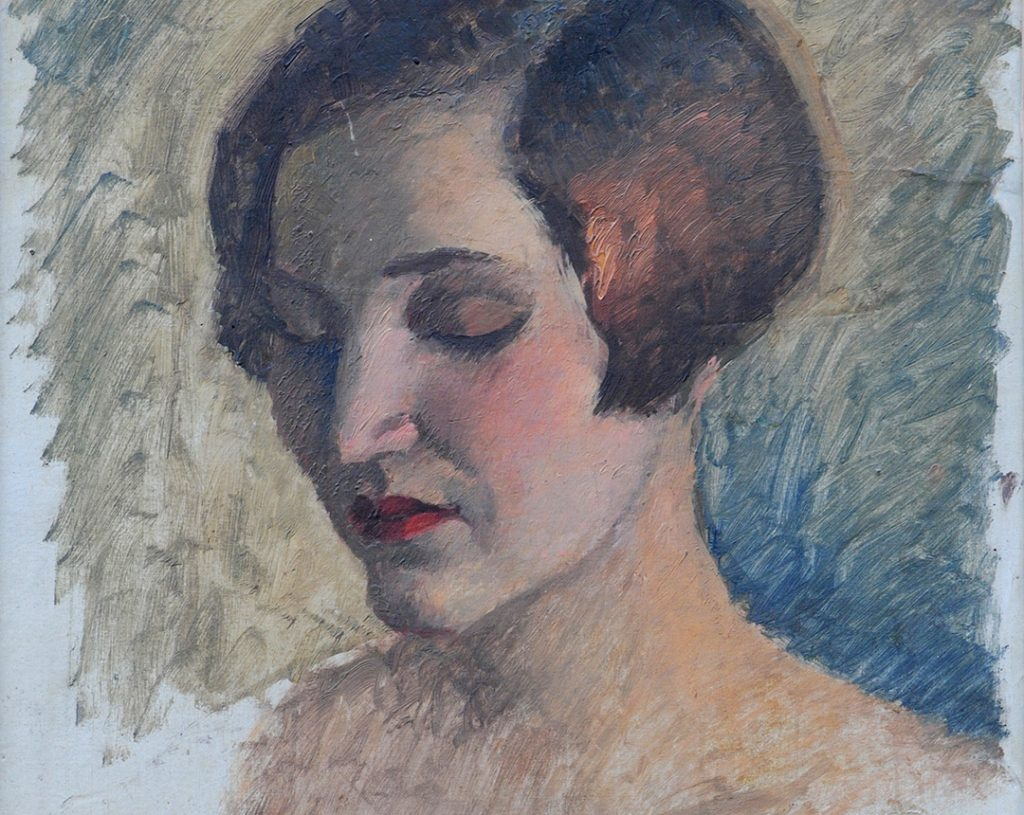 Veljko Stanojević, Poprsje mlade žene, 1926-1930.